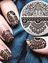 1pcs Stamping Plate Stylish / Fashion Nail Art Design Fashionable Design Daily
