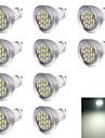 6000 lm GU10 Точечное LED освещение R63 16 светодиоды SMD 5630 Декоративная Холодный белый AC 220-240V