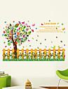 Paisagem Animais Romance Moda Formas Floral Feriado Palavras e Citacoes Desenho Animado Fantasia Botanico Adesivos de Parede Autocolantes