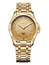 CHENXI® Golden Fashion Men\'s Watch Imitation Diamond Luxury Stainless Steel Quartz Gold Wrist Watch Cool Watch Unique Watch