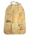 ziqiao портативный водонепроницаемый мешок спинки автомобиль отделка с карманами автокресло отсека мешок
