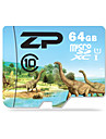 ZP 64GB TF cartao Micro SD cartao de memoria UHS-I U1 class10