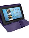 Flip caso universal tablet de couro pu com suporte para 10 polegadas (cores sortidas)