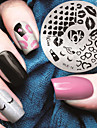 1 Nail Stamping Template Daily Fashion High Quality