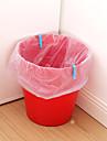 6pcs soporte de bolsas de basura fijo
