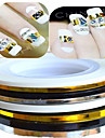 1pcs 3mm 20m Nail Art  Stripe Tape Line Sticker Nail Art Beauty Decoration Tools Random Delivery NC124