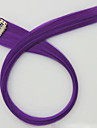 Classic High Quality Hair Piece Hair Extension Purple Daily