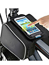 ROSWHEEL Bike Frame Bag Cell Phone Bag 5 inch Waterproof Zipper Wearable Moistureproof Shockproof Touch Screen Cycling for Iphone 8 / 7 /