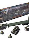 dibang - zabawki dla dzieci symulacji modelu samochodu stopu wojskowych samochodzik stoisko sprzedaży zabawki (4szt)