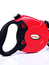 Dog Leash Adjustable / Retractable Automatic Solid Plastic Black Gray Red Blue