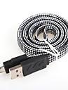 USB 2.0 Adaptateur de cable USB Plat Cable Pour Samsung 100 cm Aluminium