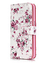 Case For Samsung Galaxy Samsung Galaxy S7 Edge Card Holder Wallet with Stand Flip Pattern Flower for S7 edge S7 S6 edge S6 S5 S4 S3