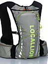 10LLCycling Backpack Backpack for Leisure Sports Traveling Running Sports Bag Wearable Reflective Strips Multifunctional Including Water