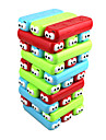 Board Game Stacking Games Wood Block Stacking Tower Toys Square Colorful New Design Girls Boys 30 Pieces