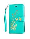케이스 제품 LG의 K8 LG LG의 K7 LG G5 LG G4 LG케이스 카드 홀더 지갑 스탠드 플립 엠보싱 텍스쳐 전체 바디 케이스 꽃장식 하드 PU 가죽 용 LG G4 스타일러스 / LS770