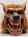 Halloween Latex Mask Creepy Wolf Head Animal Mask Halloween Cosplay Costume Adult Party Masks Drop