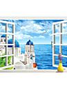 Декоративные наклейки на стены - 3D наклейки 3D Гостиная / Спальня / Ванная комната / Съемная