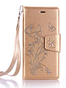 Dandelion Lanyard Embossed Diamond Phone Holster Phone Shell for Huawei P9/P9 Lite