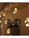 Cordoes de Luzes lm AC220 V 3 m 12 leds Branco Quente Branco RGB Amarelo Azul Roxo Rosa