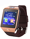 Smartwatch DZ09 for Android Touch Screen / Calories Burned / Pedometers Activity Tracker / Sleep Tracker / Stopwatch / 0.3 MP / 64MB