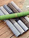 простой в европейском стиле пластиковый коврик водонепроницаемый против скольжения западной продовольственной площадки анти-горячий коврик таблицы