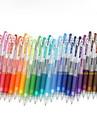 Маркеры и маркеры Гелевые ручки,Пластик Красный / Черный / Синий / Желтый / Лиловый / Зеленый