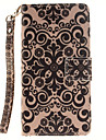 Case For Samsung Galaxy Samsung Galaxy Case Card Holder Wallet Flip Pattern Full Body Cases Flower Hard PU Leather for A5(2016) A3(2016)