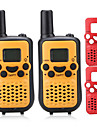 T899C Walkie Talkie Handheld VOX Encryption CTCSS/CDCSS LCD Display Scan Monitoring 3KM-5KM 3KM-5KM 8 AAA 0.5W Walkie Talkie Two Way Radio