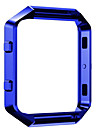 Polished Stainless Steel Metal Frame Holder Shell For Fitbit Blaze Smart Watch