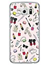 Girl\'s Life Pattern Soft Ultra-thin TPU Back Cover For Samsung GalaxyS7 edge/S7/S6 edge/S6 edge plus/S6/S5/S4