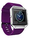 High Quality Soft Silicone Watch Band Wrist Strap For Fitbit Blaze Smart Watch