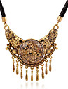 May Polly European and American fashion big retro all-match Tassel Necklace