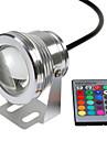 Rgb 10w подводная лампа водонепроницаемое предохранительное напряжение dc12v подводные красочные огни v1pc