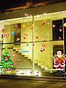 Ар-деко Современный Стикер на окна,ПВХ/винил материал окно Украшение