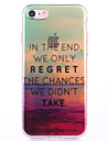 High-Quality Beautiful Scenery Can Lanyard Pattern TPU Soft Shell Case For iPhone  7 7 Plus