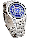 Мужской Спортивные часы Модные часы Наручные часы Панк Кварцевый сплав Группа Винтаж Cool Повседневная Серебристый металл