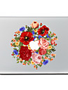 1 piece Anti-Rayures Fleur En Plastique Transparent Decalcomanie Motif PourMacBook Pro 15\'\' with Retina MacBook Pro 15 \'\' MacBook Pro