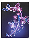 Case For Apple iPad Air 2 iPad Air Card Holder Full Body Cases Butterfly Hard PU Leather for iPad Air iPad Air 2 Apple