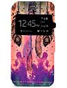 케이스 제품 iPhone 7 Plus iPhone 7 Apple iPhone 7 Plus iPhone 7 카드 홀더 스탠드 윈도우 전체 바디 케이스 깃털 하드 PU 가죽 용 iPhone 7 Plus iPhone 7