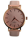 Femme Quartz Montre Bracelet / Montre Decontractee Polyurethane Bande Decontracte Mode Noir Marron Rose