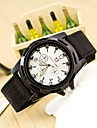 Men\'s Wrist watch Quartz / Swiss Designer Fabric Band Casual Black Blue Green