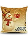 1 pcs Cotton Pillow Case, Holiday Accent / Decorative