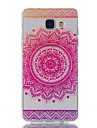 Case For Samsung Galaxy A5(2016) A3(2016) Ultra-thin Transparent Pattern Back Cover Flower Soft TPU for A5(2016) A3(2016)
