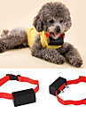 Dog Bark Collar Anti Bark Electronic / Electric Shock / Vibration Solid Colored Nylon Red