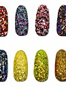 8pcs, one set Nail Jewelry Sequins Other Decorations Classic Lovely Wedding High Quality Daily