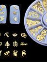 1pcs Bijoux a ongles Autres decorations Glitters Metallique Mode Haute qualite Quotidien