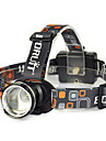 Boruit® RJ-2166 Headlamps LED Headlight Headlamp Straps Safety Lights LED 1800 Lumens 1 Mode Cree XM-L T6 Anglehead Super Light Suitable