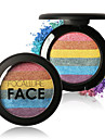 FOCALLURE New Rainbow Highlighter Palette Cosmetic Beauty Care Makeup for Face