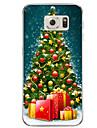 삼성 갤럭시 s7 s7 가장자리 크리스마스 선물 tpu 소프트 케이스 커버 s6 가장자리 플러스