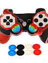 Wireless Game Controller Kituri Pentru Sony PS3 . Novelty Game Controller Kituri Silicon / ABS 1 pcs unitate